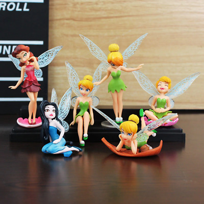 £11.99 • Buy Tinkerbell Figures Toys Cake Toppers Party Bag Filler Kids Present Birthday