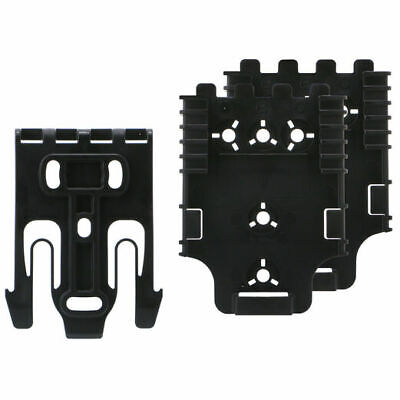 $ CDN38.06 • Buy Safariland QUICK KIT3 - (2) Black Quick Locking System For Holster QLS22