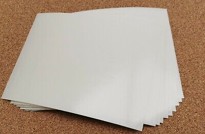 250 - A5 Double Sided Adhesive Tape Sheets - Very Sticky AMAZING VALUE  • 30£