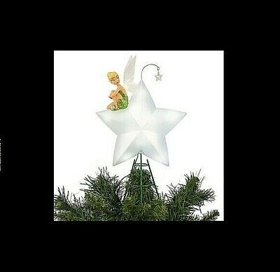 $98.99 • Buy DISNEY Light Up Tree Topper TINKERBELL ** NEW Beautifully Detailed Christmas
