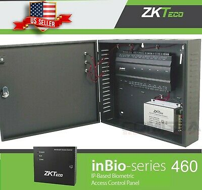 AU509.93 • Buy ZKTeco Inbio 460 Access Controller 4 Door Multifunction Door Board TCPIP RS485