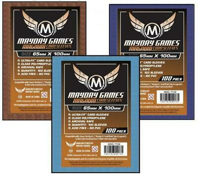 $2.49 • Buy Mayday Boardgame Sleeves Magnum Copper Card Sleeves - Blue (100) MINT