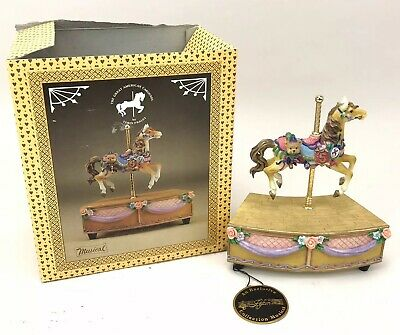 $24.99 • Buy The Great American Carousel Horse Tobin Fraley Music Box G.Z. Lefton CWH11455