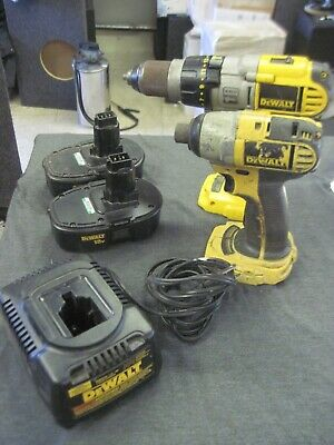 $175 • Buy DeWalt Drill And Impact Drill With 2 Battery DC9099 And Charger DW9116