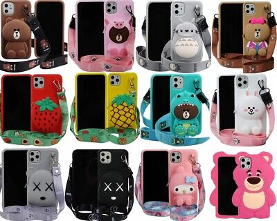 $9.99 • Buy 3D Silicone Animal Cartoon Thick Rubber Gel Kawaii Cover Case For Apple IPhone