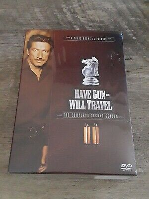 $10.99 • Buy Have Gun Will Travel - The Complete Second Season (DVD, 2005, 6-Disc Set)