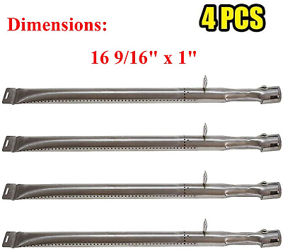 AU33.46 • Buy Grill Burners Stainless Steel 4-Pack 16 9/16  For Backyard Grill Dyna Glo BBQ