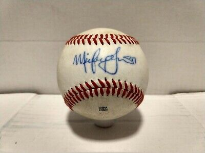 $ CDN22.45 • Buy Mickey Jannis Autographed Baseball Signed New York Mets Arizona Fall League Auto