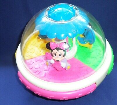 £14.15 • Buy Mickey And Minnie Mouse Donald Duck Musical Ball Baby Toy Vintage