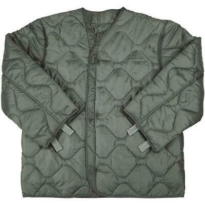 $25 • Buy New U.S. MILITARY M65 FIELD JACKET COAT LINER New M-65 Quilted OD,Size X-Small-R