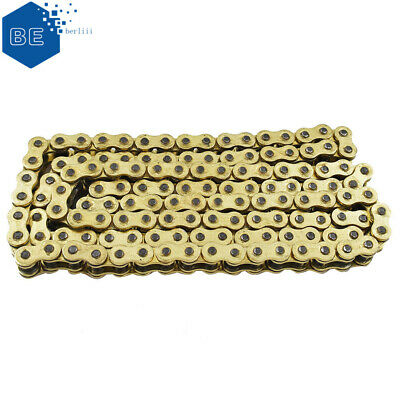 AU43.21 • Buy 530 X 130 Gold O-Ring Drive Chain ORing 530 Pitch X 130 Links Master O Ring New