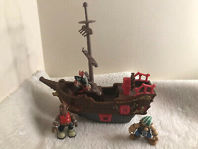 £15 • Buy Pirate Ship Rigging Mast Play Figures Sounds Button Steering Wheel