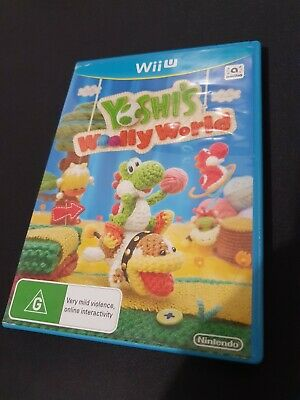 AU49.49 • Buy Yoshi's Woolly World - Nintendo Wii U - Very Good Condition - FREE POST!!!