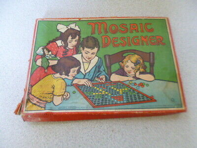 Vintage Spears Games Ball Mosaic Designer • 6.79£