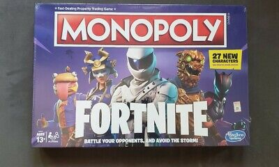 $15 • Buy Fortnite Edition Monopoly Board Game Brand New Seal In Box
