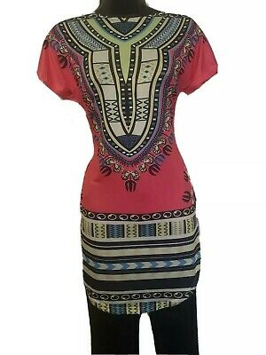 $20 • Buy African Women Pink Stretchy Blouse