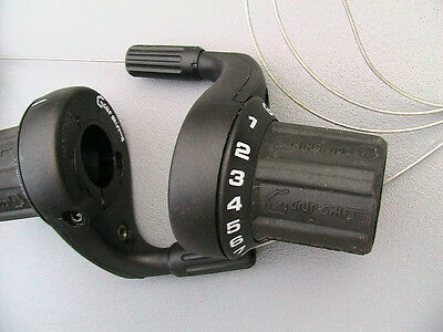 $40 • Buy VINTAGE GRIPSHIFT SRAM SRT500R 3x8 Speed SHIFTERS In EXCELLENT CONDITION