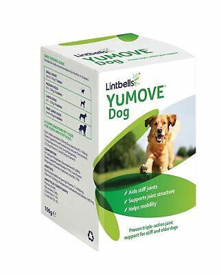 Lintbells | YuMOVE Dog | Essential Hip And Joint Supplement For Stiff Dogs Ag... • 19.73£
