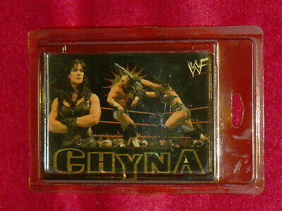 $ CDN12.67 • Buy  WWF : Chyna  Holo Foil Decal / Sticker ( Joanie Laurer )  2000
