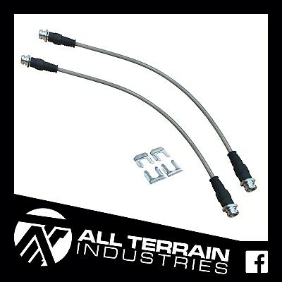 AU80 • Buy Ati Extended Braided Brake Lines - Rear - Toyota N70 Hilux Abs Kun26