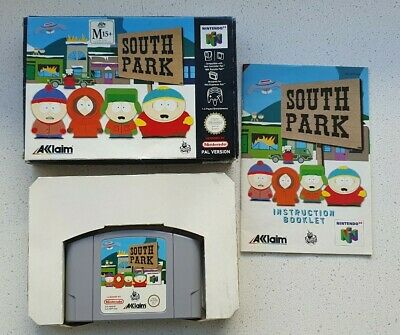 AU75 • Buy South Park Nintendo 64 N64 PAL - Complete With Box And Instructions - Free Post