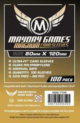 $3.09 • Buy Mayday Boardgame Sleeves Magnum Gold Card Sleeves (100) MINT