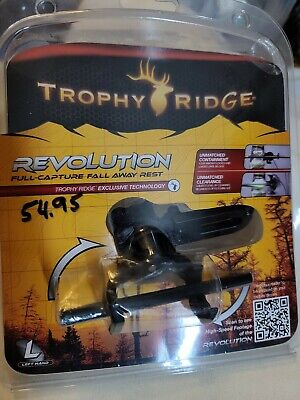 $30 • Buy LH~Trophy Ridge REVOLUTION Full Capture Fall-Away Arrow Rest ~ Target Hunting 3D