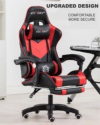 AU145.60 • Buy Home Office Chair Computer Chair Recliner Chair With Footrest Gaming Chair