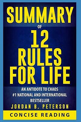 AU17.39 • Buy Summary Of 12 Rules For Life: An Antidote To Chaos By Jordan B. Peterson (Englis