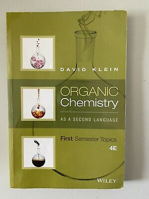 $47.99 • Buy Organic Chemistry As A Second Language: First Semester Topics