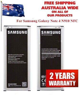 AU17.98 • Buy New For Samsung Note 4 Top Battery - N910 EB-BN910BBE With NFC