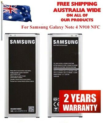 AU17.98 • Buy Samsung Note 4 Genuine Original Battery - N910 EB-BN910BBE With NFC Premium Cell