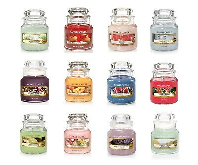 Brand New Yankee Candle Small Jars Scents Fragrances - Vanilla, Cinnamon, Ginger • 9.99£
