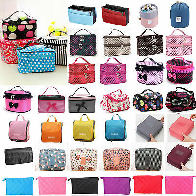 Girl Travel Cosmetic Make Up Vanity Case Bag Toiletry Beauty Purse Pouch Storage • 6.29£