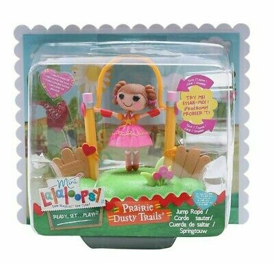 $6.99 • Buy Lalaloopsy Littles Mini Doll Prairie Dusty Trails Jump Rope Toy RARE NEW