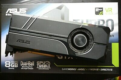 $ CDN446.72 • Buy ASUS GeForce GTX 1070 Ti Turbo - Used. Perfect Working Condition, Original Owner