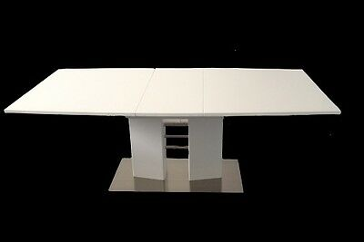 AU299 • Buy NEW Modern High Gloss Extension Dining Table 1.6m - 2m
