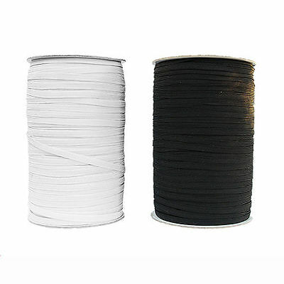 AU24.90 • Buy Elastic 6mm Braided - White /50mts X2 /Suitable For Skirts & Pants Etc.