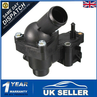 THERMOSTAT HOUSING COMPLETE For Ford Focus 1.8 TDCI C-MAX GALAXY MONDEO 1198060 • 13.25£