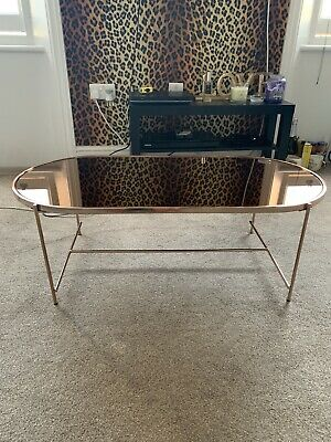 Argos Home Boutique Rose Gold Coffe Table • 65£