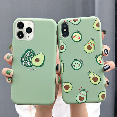AU4.70 • Buy Cute Cartoon Avocado Phone Case Cover For IPhone SE 11Pro Max XR XS Max 6 7 8P