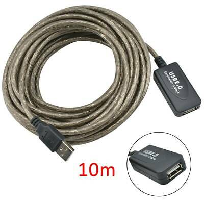 AU16.57 • Buy 10M USB 2.0 Active Repeater Cable Signal Booster Extension Cord
