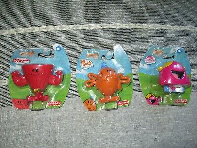 Mr Men And Little Miss Figures Tickle Strong Chatterbox Fisher Price Bundle NEW • 22.99£