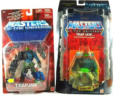 $170.99 • Buy MOTU 200x Trap Jaw W/Commemorative Trap Jaw Lot Of 2 Masters Of The Universe