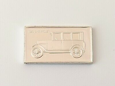 Pinches Silver Ingot 100 Greatest Cars 1923 Cheverolet Free UK P&P • 4.75£