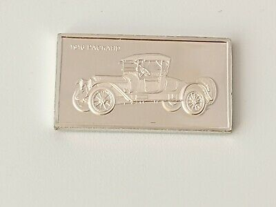 Pinches Silver Ingot 100 Greatest Cars 1916 Packard Free UK P&P • 4.75£