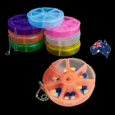 AU7.50 • Buy Pill Box 7 Days Dispenser Organiser Container Weekly Container Medicine Case