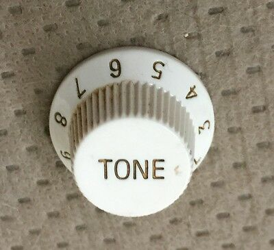 $ CDN8.16 • Buy Silvertone Strat Style Electric Guitar Tone Switch Original White Knob