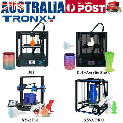AU399.99 • Buy Tronxy D01 X5SA PRO XY-2 Pro 3D Printer Kit 220*220*220 255*255*260 330*330*400