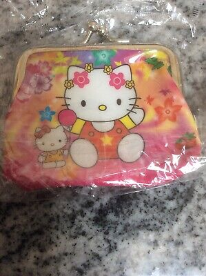 £2.99 • Buy Girls Hello Kitty Pink Purse With Clasp